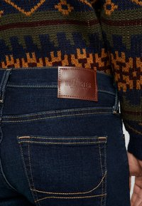 Hollister Co. - Skinny džíny - dark-blue denim - 3