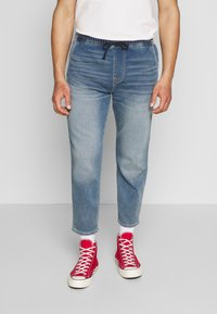 Hollister Co. - CROP PULL ON - Jeans Tapered Fit - medium - 0