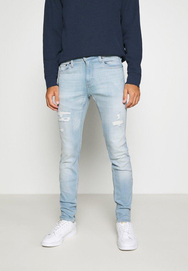 Jeans Skinny - light destroy