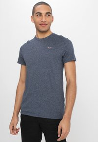 Hollister Co. - CREW CHAIN 3 PACK - Basic T-shirt - white - 3
