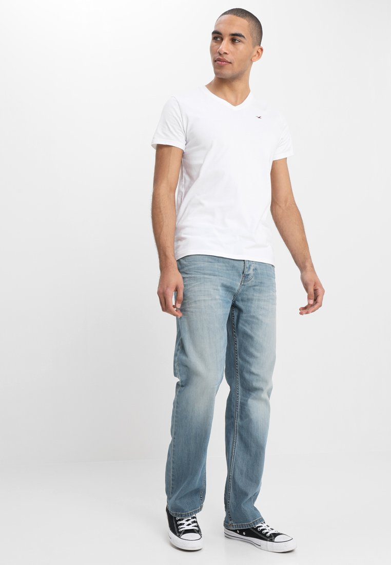 Hollister Co. - 3 PACK - Camiseta básica - white