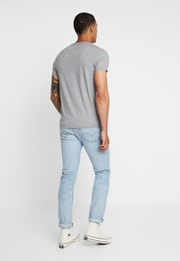 Hollister Co. - CREW CORP ICON - T-shirt basic - grey - 2