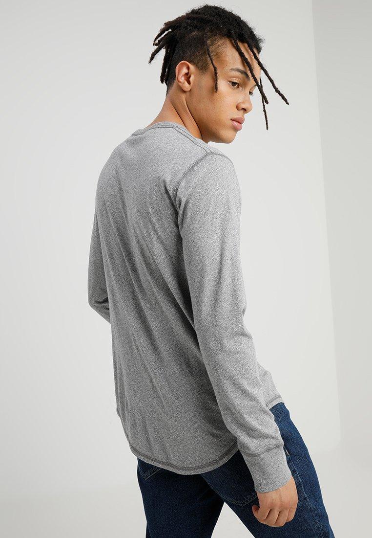 Hollister Co. MULTI 3 PACK - Bluzka z długim rękawem - white/navy/grey
