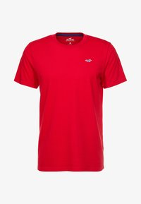 Hollister Co. - ICON VARIETY CREW - Basic T-shirt - red - 3