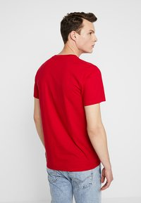 Hollister Co. - ICON VARIETY CREW - Basic T-shirt - red - 2