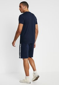 Hollister Co. - ICON VARIETY CREW - T-shirt basic - navy/mint - 2