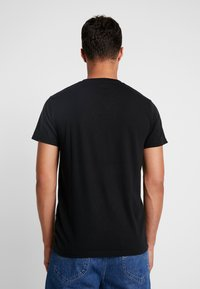 Hollister Co. - ICON VARIETY CREW - Camiseta básica - black/mint - 2