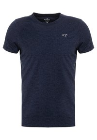 Hollister Co. - MUSCLE FIT CREW - Jednoduché triko - navy - 0
