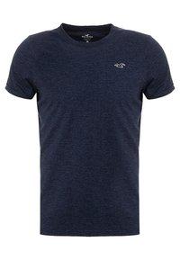 Hollister Co. - MUSCLE FIT CREW - T-shirt basique - navy - 0