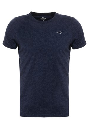 MUSCLE FIT CREW - T-shirt basique - navy