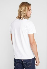 Hollister Co. - 5 PACK CREW  - Print T-shirt - white/grey/red/navy texture/black - 2