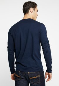 Hollister Co. - STATEMENT - Long sleeved top - navy - 2