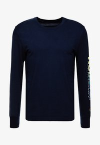 Hollister Co. - STATEMENT - Long sleeved top - navy - 4