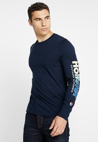 Hollister Co. - STATEMENT - Long sleeved top - navy - 0