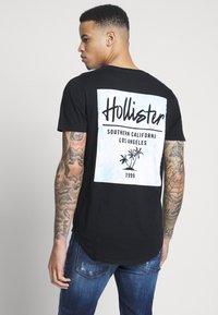 Hollister Co. - Print T-shirt - black - 2