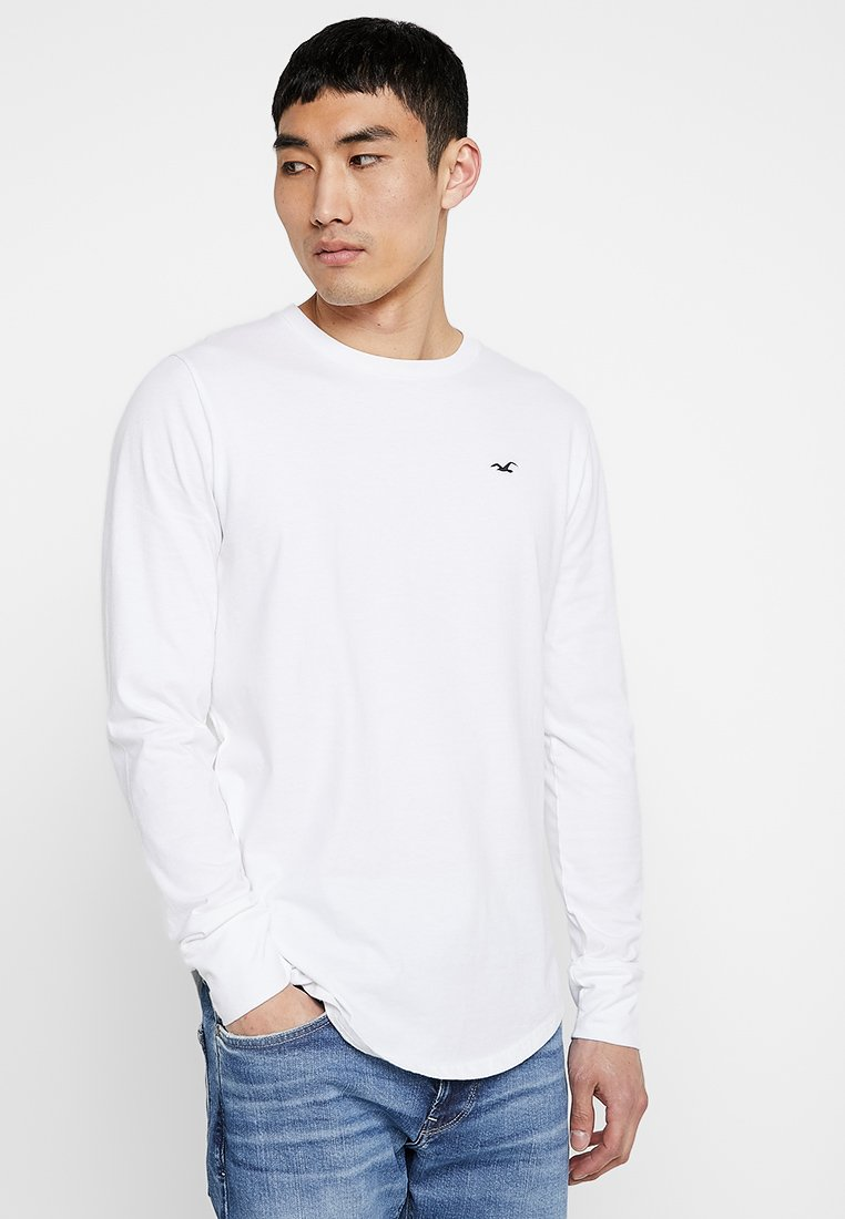 Hollister Co. - ICON VARIETY - Camiseta de manga larga - white