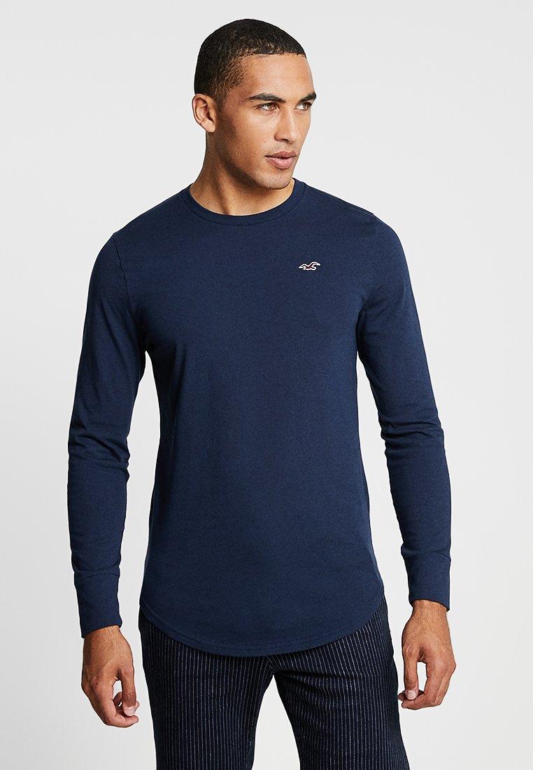 Hollister Co. - ICON VARIETY - Camiseta de manga larga - navy with red icon