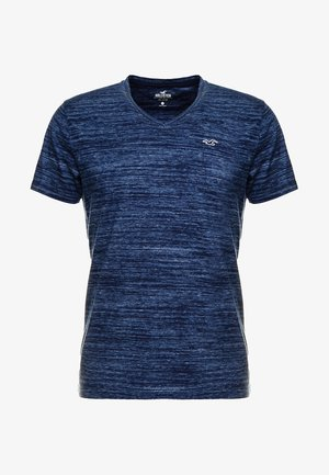 VEE - T-shirt con stampa - navy