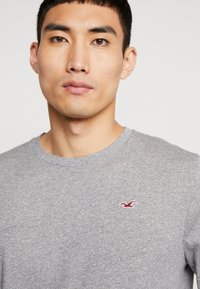 Hollister Co. - Long sleeved top - grey/white/navy - 6