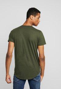 Hollister Co. - SCRUNCH BOX LOGO - Camiseta estampada - green - 2