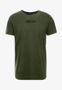 Hollister Co. - SCRUNCH BOX LOGO - Camiseta estampada - green - 3