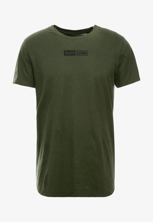 SCRUNCH BOX LOGO - T-shirt imprimé - green