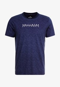 Hollister Co. - PRINT LOGO - Camiseta estampada - blue - 4