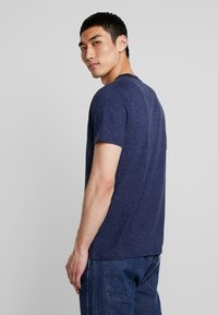 Hollister Co. - PRINT LOGO - Camiseta estampada - blue