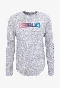 Hollister Co. - JUNE OMBRE SLEEVE HIT - Bluzka z długim rękawem - grey - 4