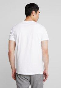 Hollister Co. - ICON VARIETY CREW  - Jednoduché triko - white - 2