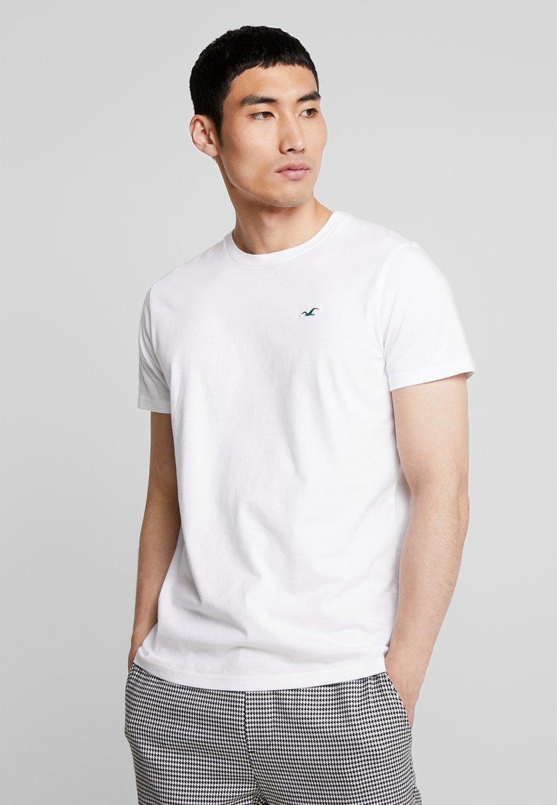 Hollister Co. - ICON VARIETY CREW  - Jednoduché triko - white