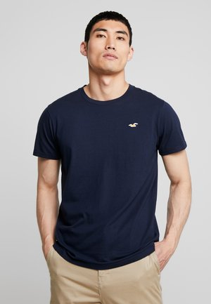 ICON VARIETY CREW  - T-shirt basic - navy with gold