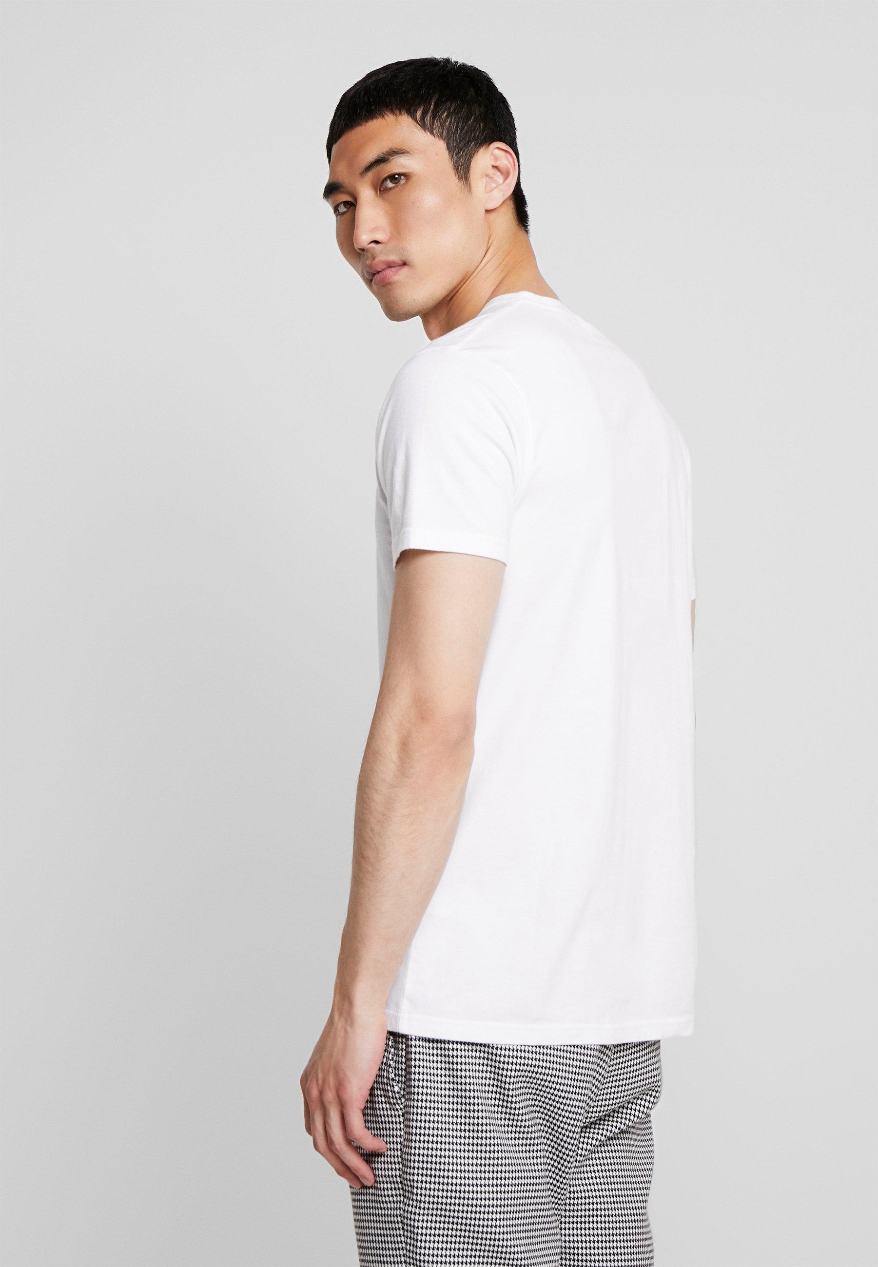 CoIcon Basique Hollister VarietyT White shirt lTF1c3uKJ