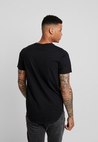 Hollister Co. - 3 PACK - T-shirt basic - white/ grey /black - 3