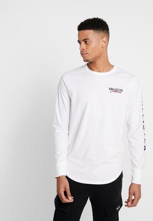 TECH LOGO - Langarmshirt - white