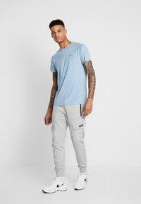 Hollister Co. - CREW - T-shirt imprimé - blue - 1