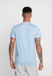 Hollister Co. - CREW - T-shirt imprimé - blue - 2