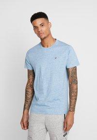 Hollister Co. - CREW - T-shirt imprimé - blue - 0