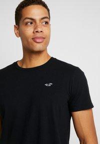 Hollister Co. - CREW - T-shirt print - black - 4