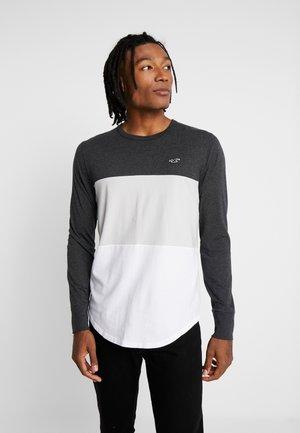 BLOCKED - Camiseta de manga larga - black tri block