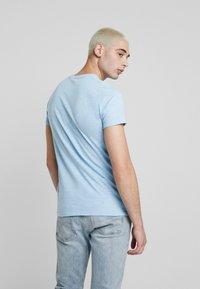 Hollister Co. - CREW - T-shirt basic - navy - 2