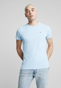 Hollister Co. - CREW - T-shirt basic - navy - 0