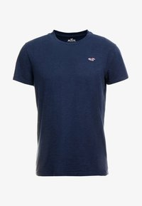 Hollister Co. - CREW - T-shirt - bas - navy - 4