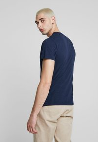 Hollister Co. - CREW - T-shirt - bas - navy - 2