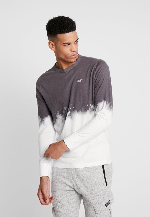 COLORS WASH - Long sleeved top - dark grey