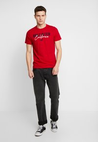 Hollister Co. - TECH LOGO 3-PACK - T-shirt imprimé - multi - 0
