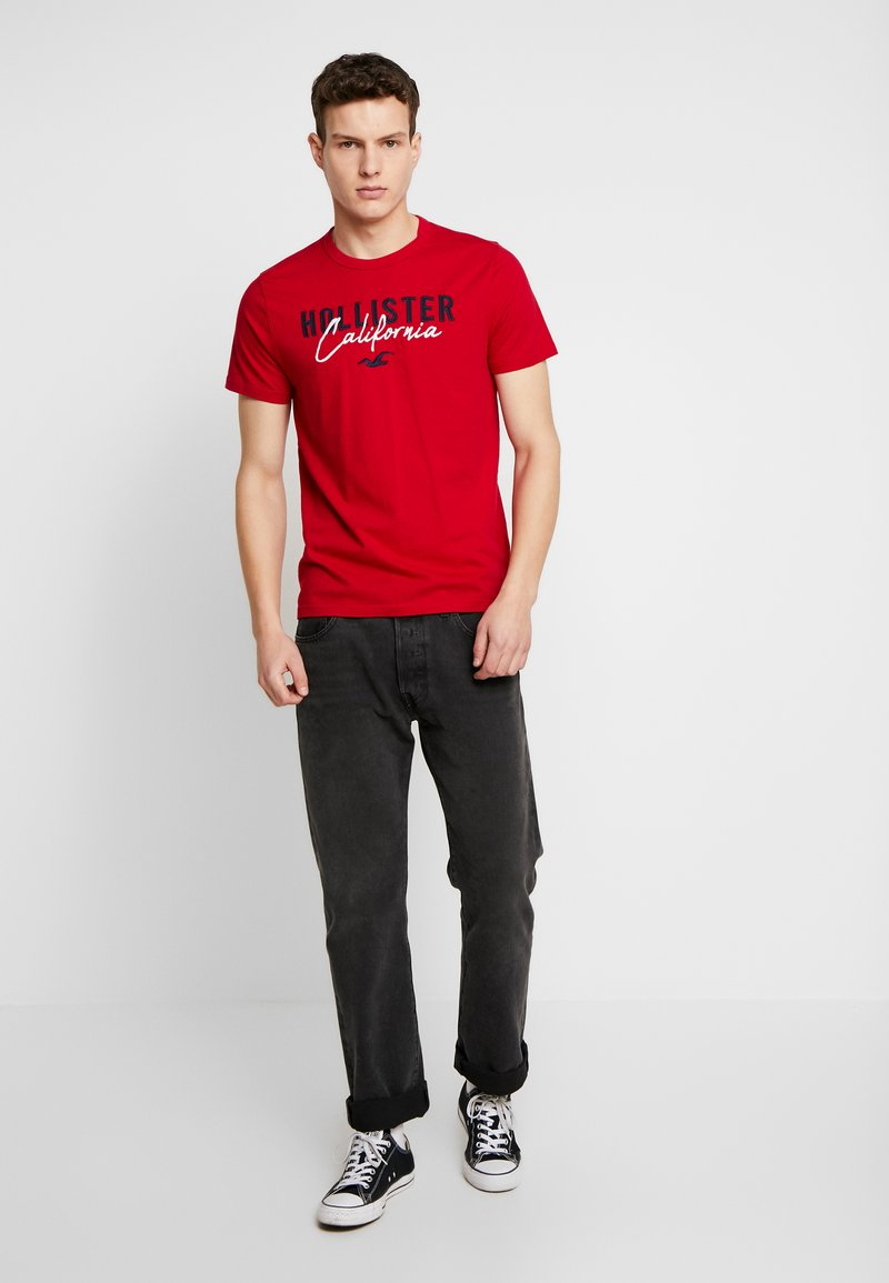 Hollister Co. - TECH LOGO 3-PACK - T-shirt imprimé - multi