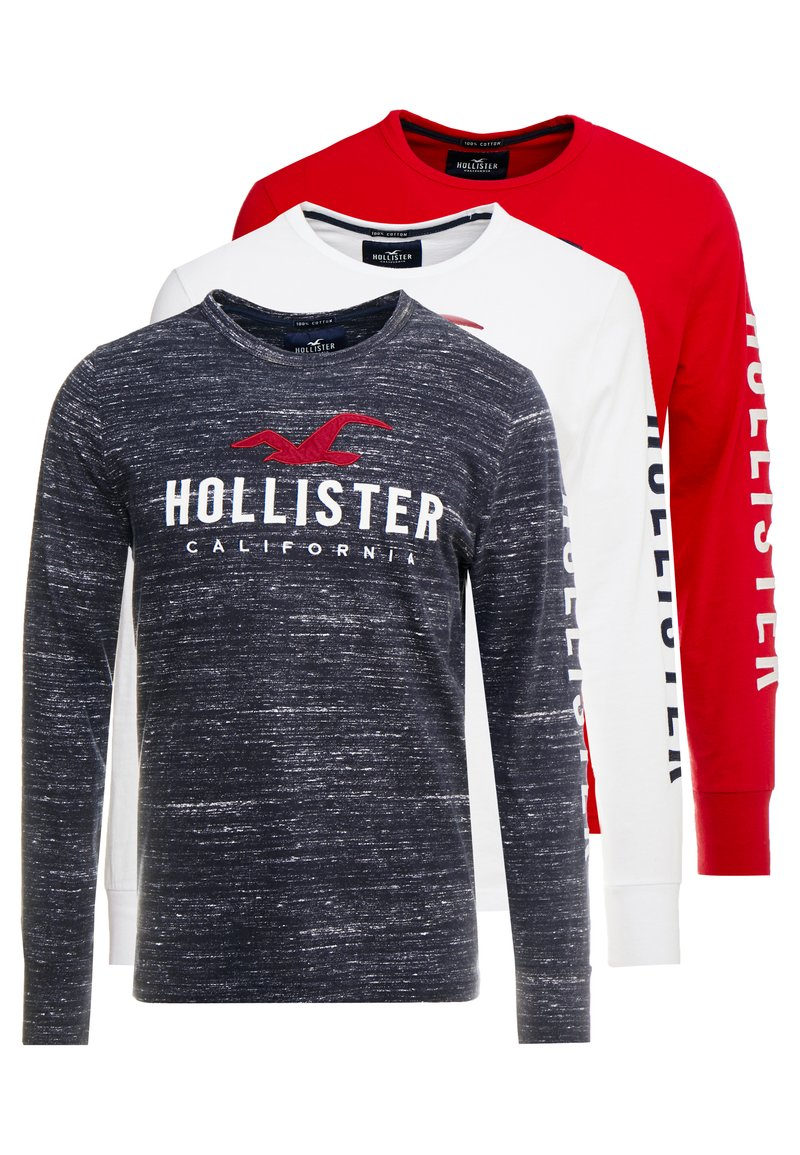 Hollister Co. - GIFTSET 3 PACK - T-shirt à manches longues - multi