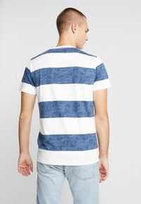 Hollister Co. - THICK STRIPE 3 PACK - T-shirt imprimé - navy/red/olive - 3
