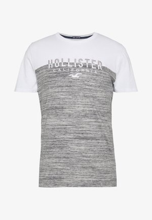CORE TECH SMALL SCALE BLOCK  - T-shirt imprimé - grey splicing